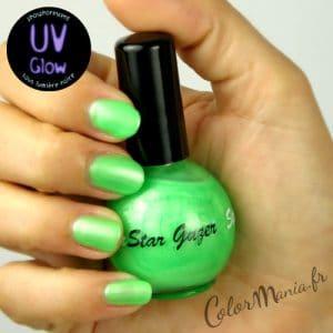 Vernis à Ongles UV Vert – Stargazer