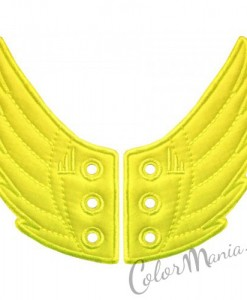 Ailes Jaune Fluo pour Chaussures Shwings