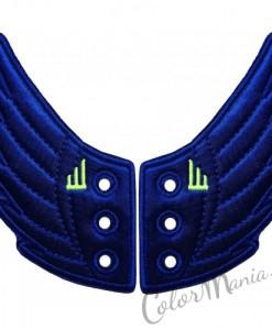 Ailes Bleu Electrique pour Chaussures Shwings
