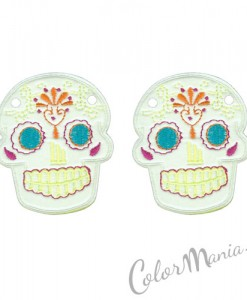 Têtes Mexicaines Blanches pour Chaussures Shwings