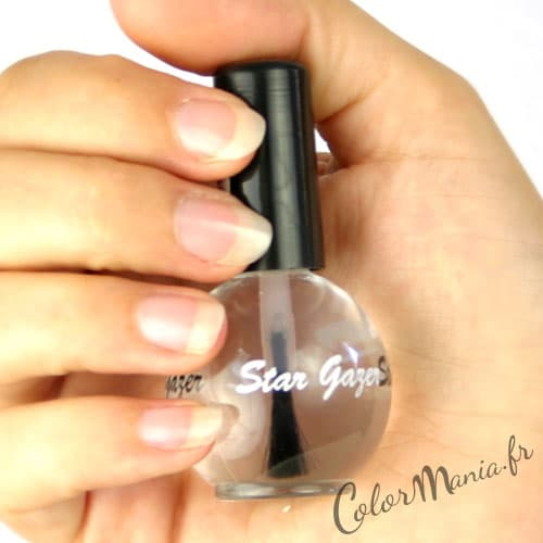 Vernis à Ongles Top Coat Transparent , Stargazer