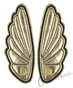 Clips Ailes Argent pour Chaussures Shwings