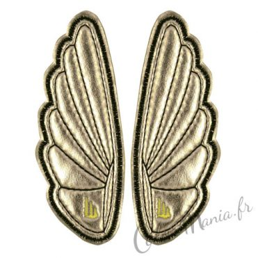 Clips Ailes Argent pour Chaussures Shwings 1