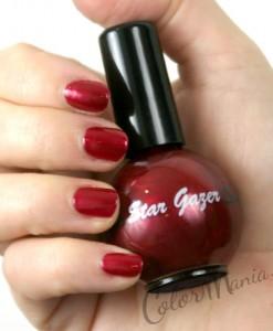 Vernis à Ongles Rouge Framboise – Stargazer