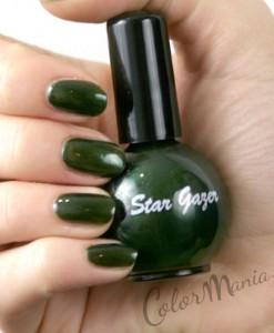 Vernis à Ongles Vert Forêt - Stargazer