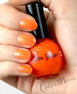 "Vernis à Ongles Orange ""Glitter Pulp"" - Stargazer"