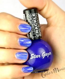 Vernis à Ongles Craquelé Bleu Intense - Stargazer