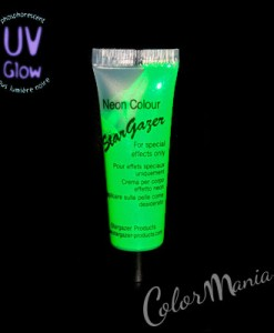 Maquillage UV Phosphorescent Vert Fluo – Stargazer