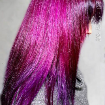 Coloration Cheveux Violet - Directions