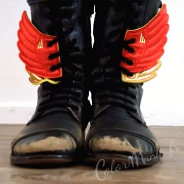 Ailes Rouges pour Chaussures Shwings