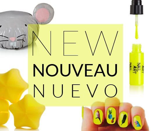 Nouveautés Accessoires Cheveux & Ongles | Color-Mania