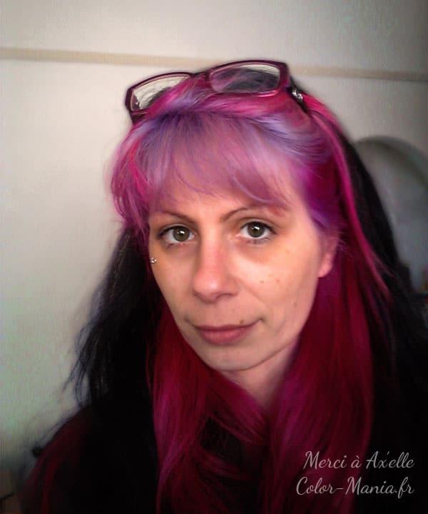 coloration cheveux fuchsia stargazer color mania - Coloration Rouge Violine