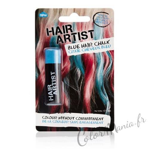 """Hair Artist"" Craie à Cheveux Bleue"