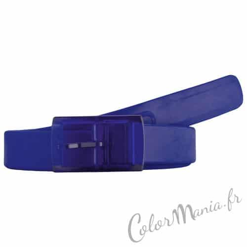 Cinturón de Silicona Azul Oscuro