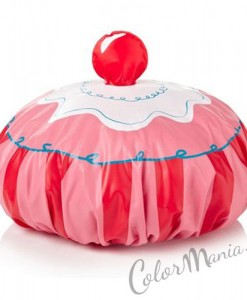 Bonnet de Douche Cupcake
