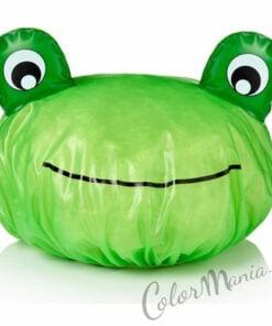 Cuffia per doccia Green Frog