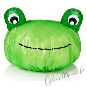 Bonnet de Douche Grenouille Verte
