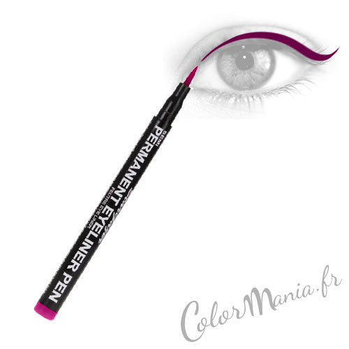 Red Bordeaux Long Felt Eyeliner - Stargazer