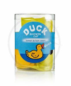 Touca de banho amarela do pato | Cor-Mania