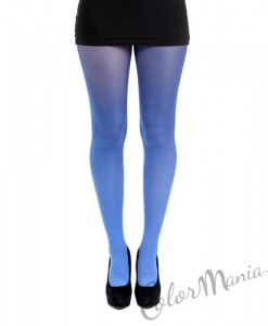 Collants Fantaisie Ombrés - Bleu