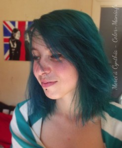 Coloration Cheveux Turquoise - Directions