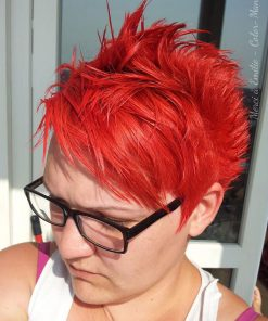 Coloration Cheveux Rouge Coquelicot - Directions