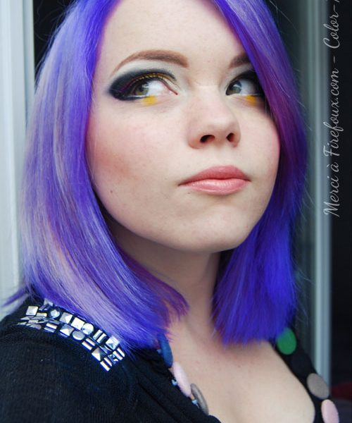 Coloration Cheveux Lilas - Directions