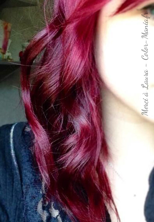 "Super Coloration Cheveux Rouge ""Rubine"" - Directions 