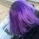 Coloration Cheveux Violet – Directions 5