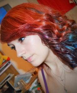 Color de pelo rojo