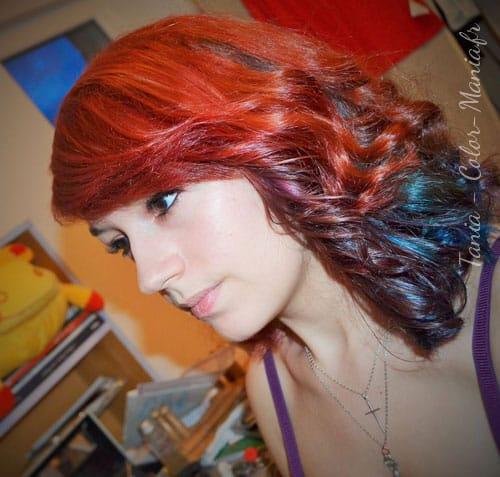 "Coloration Cheveux Rouge ""Pillarbox"" – Directions"
