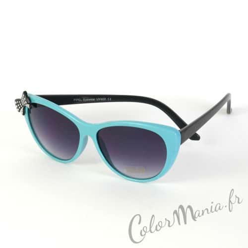 lunettes de soleil cat eye bleu ciel color mania. Black Bedroom Furniture Sets. Home Design Ideas