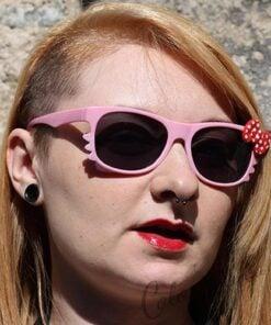 Lunettes de Soleil type Wayfarer Chat Rose Pastel