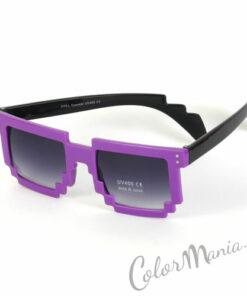 Gafas de sol Geek Pixel - Púrpura
