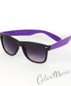 Lunettes de Soleil type Wayfarer Bicolores - Violet