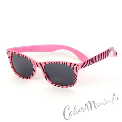 Gafas de sol Wayfarer Zebra Pastel Pink