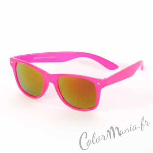 Wayfarer Translucent Rose Acidulated Glasses - Gafas de gasolina