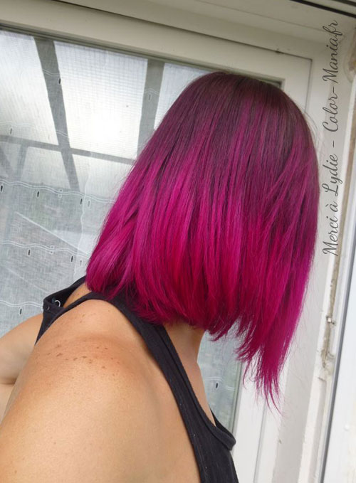 Coloration Cheveux Rose Cerise - Directions
