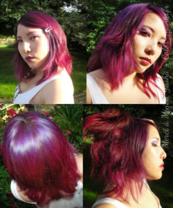 Red Hair Color Pink - Indicazioni