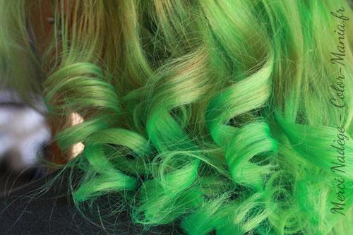 Coloration Cheveux Vert Printemps - Directions