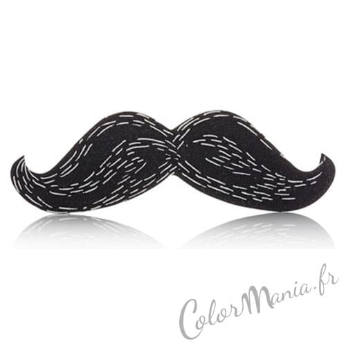 "Archivo de uñas Black Moustache ""Nail Art"""