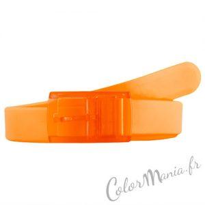 Ceinture Silicone Orange Mandarine