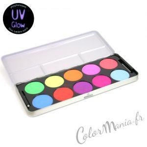 Palette Maquillage Yeux – Couleurs Vives