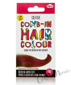 """Comb In"" Coloration Cheveux Temporaire Rose"