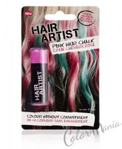 """""""Hair Artist"""" Craie à Cheveux Rose"""