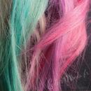 «Hair Artist» Craies à Cheveux Turquoise & Rose 2