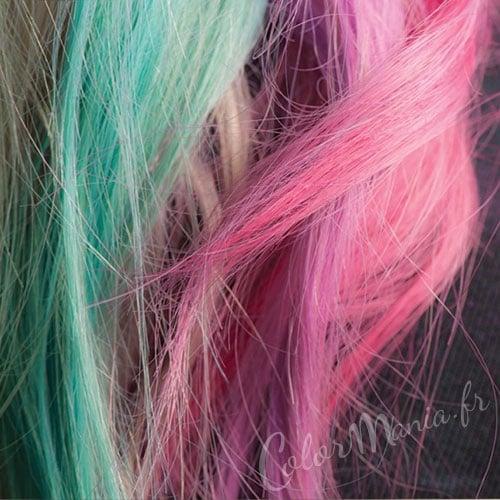 """Hair Artist"" Craies à Cheveux Turquoise & Rose"