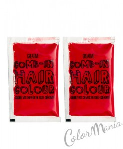 """Comb In"" Coloration Cheveux Temporaire Rouge"