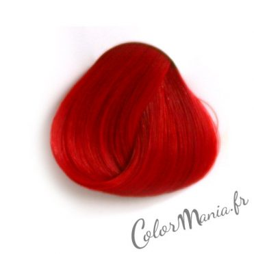 Coloration Cheveux Rouge « Pillarbox » – Directions 1