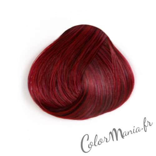 Coloration cheveux rouge rubine directions color mania - Couleur rouge bordeaux ...